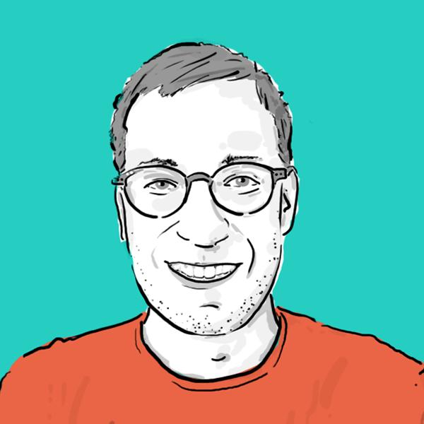 Illustriertes Portrait